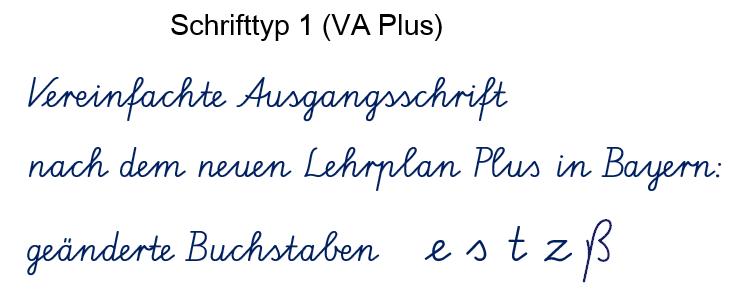 Handschrift Schreibschrift übungsmaterialien